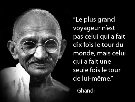 citation ghandi