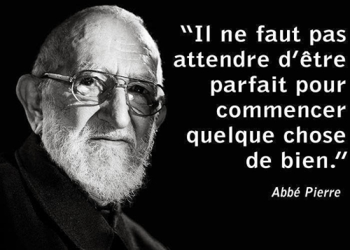 citation l'abbé Pierre