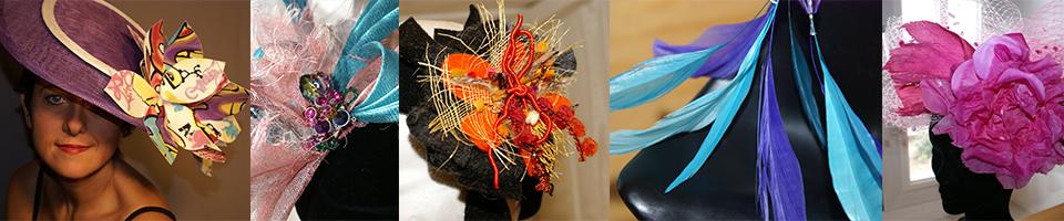 Impertinence, création de chapeaux et accessoires - Rouen / Paris