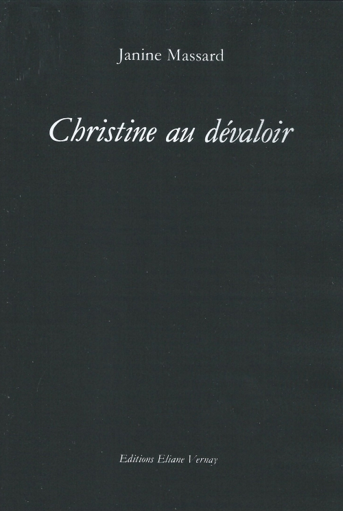 1980 Janine Massard Christine au dévaloir.jpg
