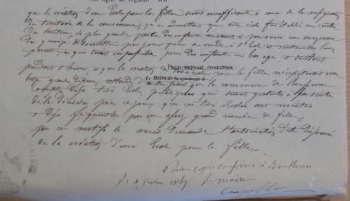 école de filles Boussenac 1864.PNG