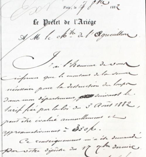 primes pour destruction des loups 1882 réponse Préfet 09.PNG