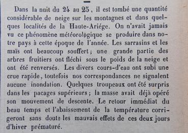 neige précoce 29-9-1866 Ariégeois 2.png