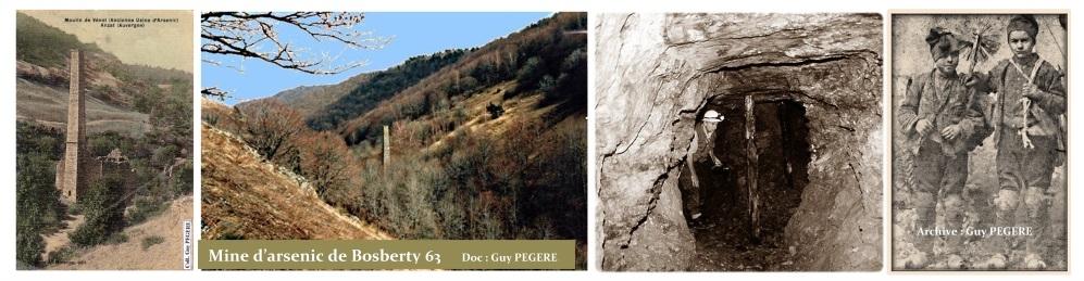 Guy Pegere Mine d'arsenic de Bosberty à Anzat-le-Luguet 63