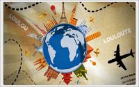 Loulou et Louloute découvrent le monde