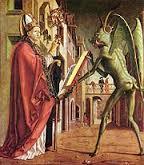 saint augustin et le diable Michael  Pacher (1471).jpg