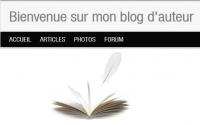 Bienvenue sur mon blog d'auteur