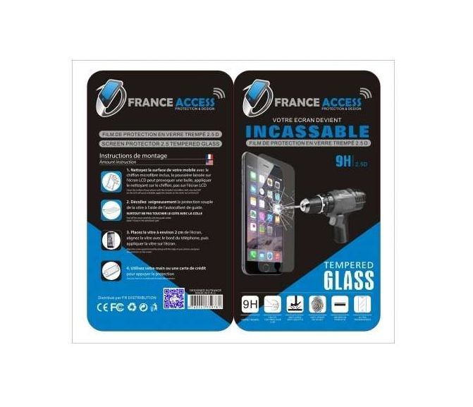 France-Access grossiste pièce détachée Huawei : HUAWEI P8 LITE FILM INCASSABLE 2,5D ULTRA FIN