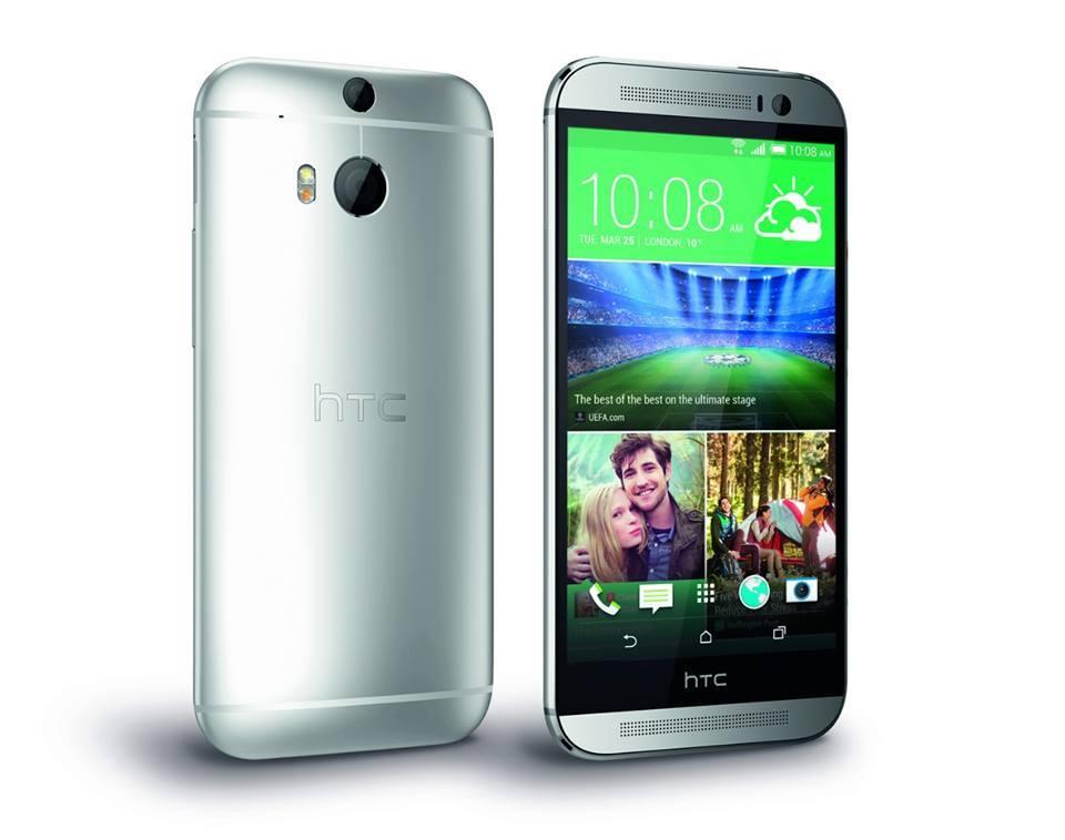 France-Access grossiste Téléphones HTC: HTC ONE M8 4G NFC 16GB GLACIAL SILVER O2 DE