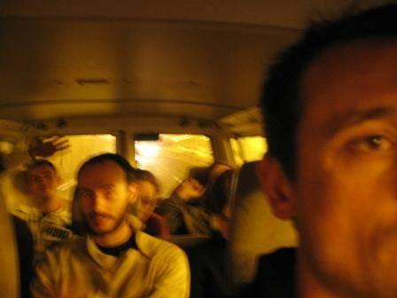 Dans le bus!
