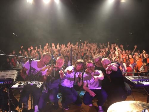 groupe Goldmen à St Jean Brévelay le 4 juillet 2015.jpg