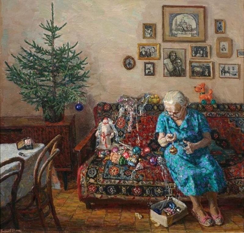 vieille femme déco Noël 15541510.jpg