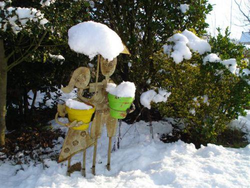 Neige chez Maminou