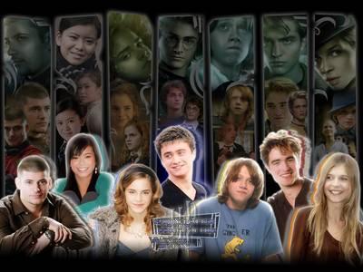 Les principaux personnages de HP4...