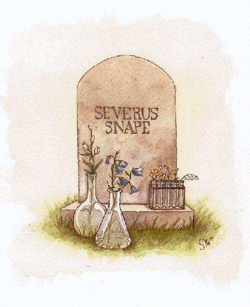 La tombe de Severus Snape/Rogue