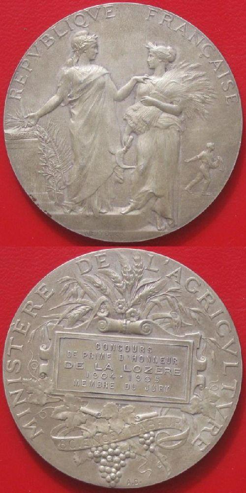 Médaille de concours agricole