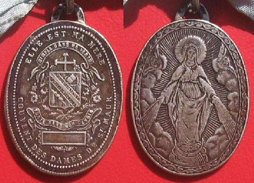 Médaille des religieuses de Saint-Maur