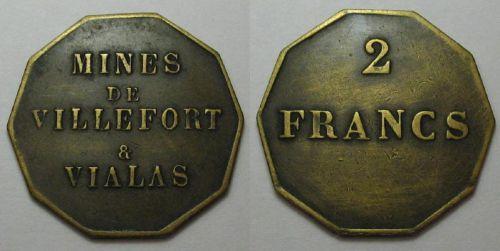 Villefort et Vialas - Mines