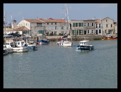 Port de St-Martin-en-Ré
