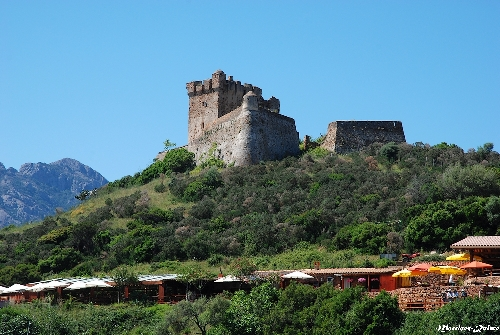 Fortifications à Girolata