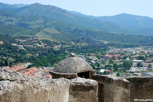 Vue des remparts (Citadelle de Corte)