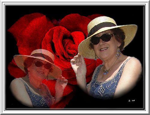 La Femme et la Rose