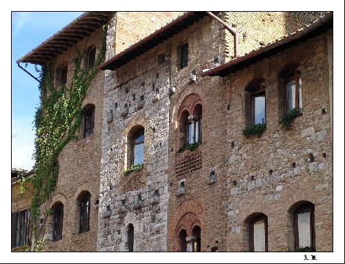 Façades de San Gimignano 2