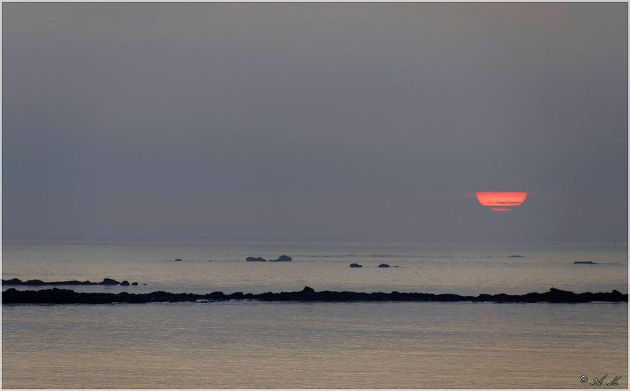 Coucher de soleil à Saint-Pabu