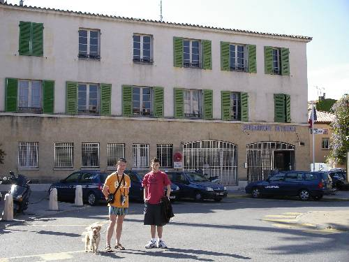 La 2 ème gendarmerie de St -Trop'