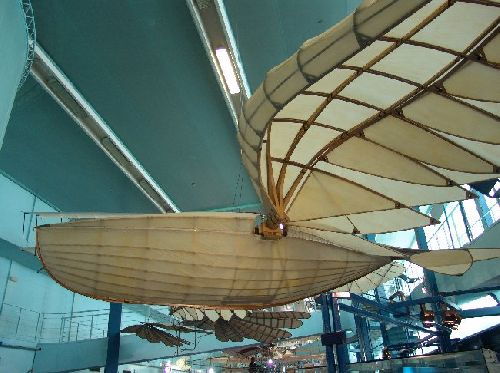 Juillet 2006 - Navire volant - XIX e siècle