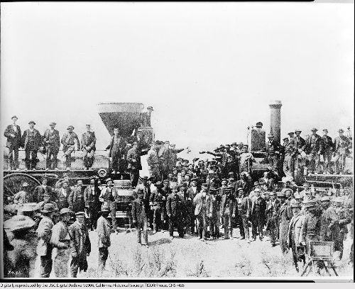 Jonction transcontinentale Golden Spike 1869