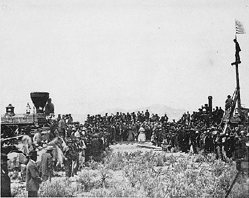 Utah Promontary - Golden Spike 1869