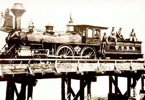 Locomotive des temps héroïques
