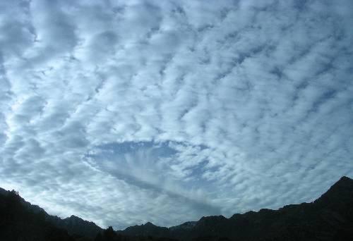 le ciel offre un joli spectacle