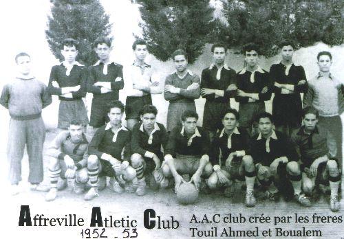 AFFREVILLE ATHLETIC CLUB.