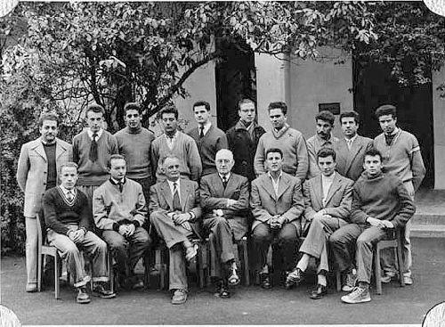 ECOLE NORMALE DE BOUZAREA : BRAHAM LARACHICHE.PROMO 1953/1957.SCIENCES EX.