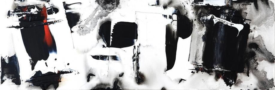 des noirs noirs de blancs 5 acrylique 40x120cm.JPG