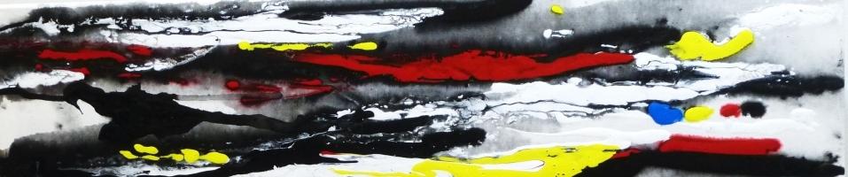 Arève -  peintre expressionniste abstrait