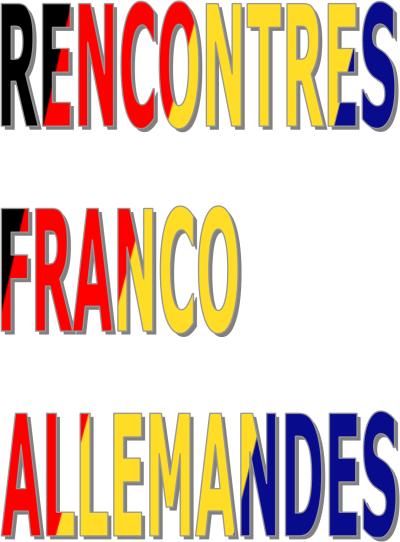 Rencontre Franco Allemande - Annecy (Haute-savoie), 4 Passage De