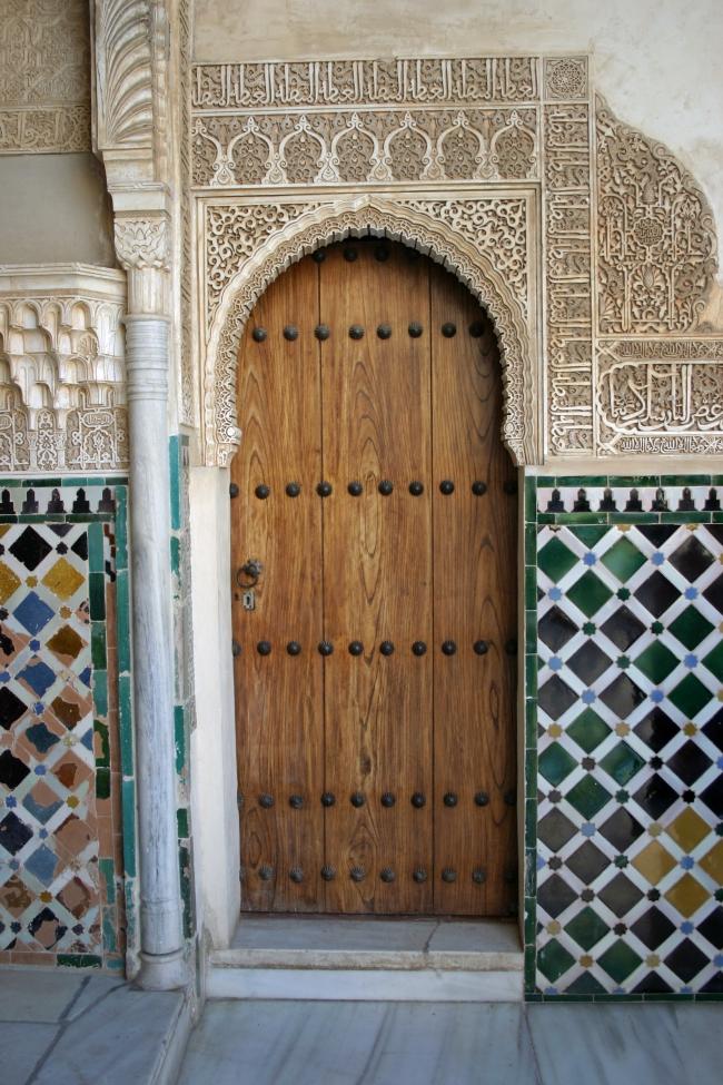 061012.28C Granada Alhambra_Patio de los Arrayanes porte.JPG