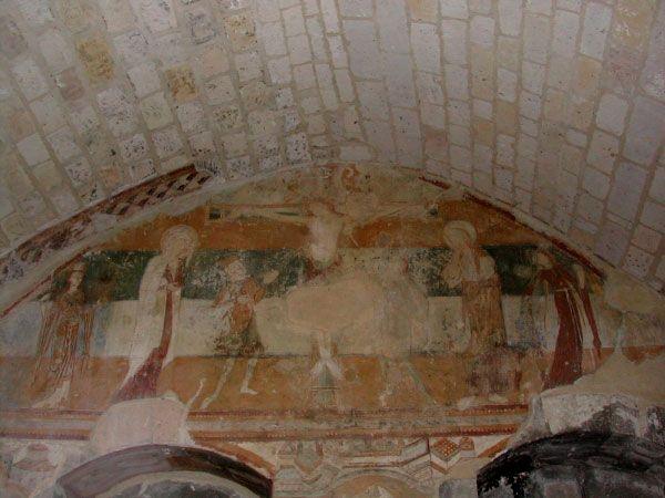 La fresque du XII e s.