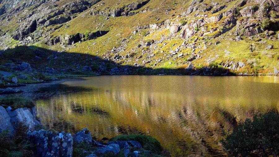 Gap of Dunloe, le lac d'or