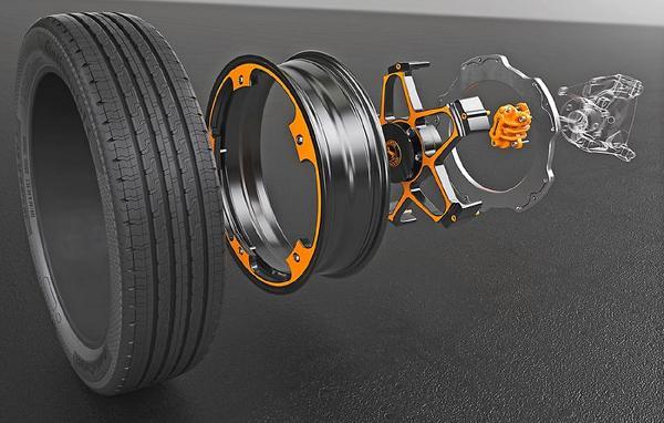 Disque de frein électriques Continental et pneus.jpg