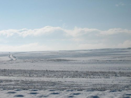 (ph. Mesleon) Ciel d\'hiver en Castille