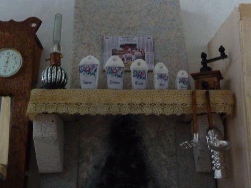 détail de la cheminée