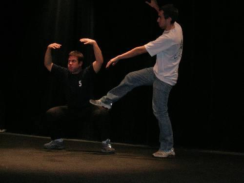 SPECTACLE D'IMPRO FEVRIER 2006 BASTIA