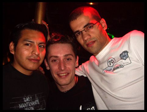 Carlos, Sébastien & Guilherme