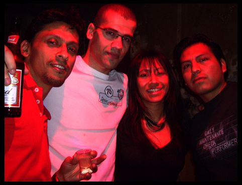 Esteban,Guilherme,carlos et Julia