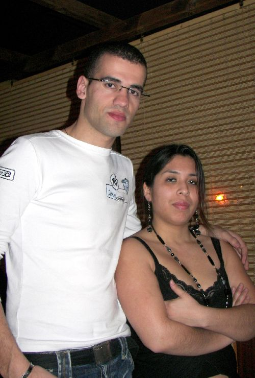 Céline (pésidente) et Guilherme (Vice président)