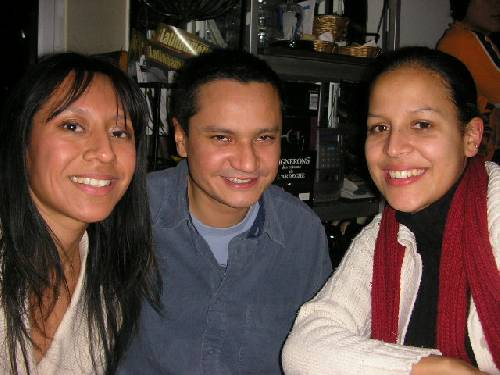 Julia, Antoine, Gwen